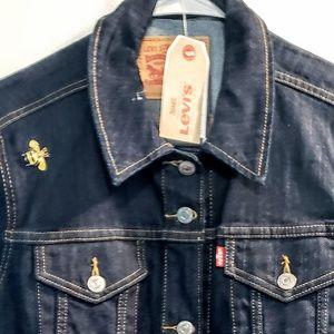 Women's Dark Denim Levi's Jacket